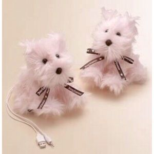 Juicy Couture Plush Scottie Doggy Mp3 Speakers